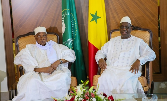 Macky Sall : « Je remercie chaleureusement Abdoulaye Wade »
