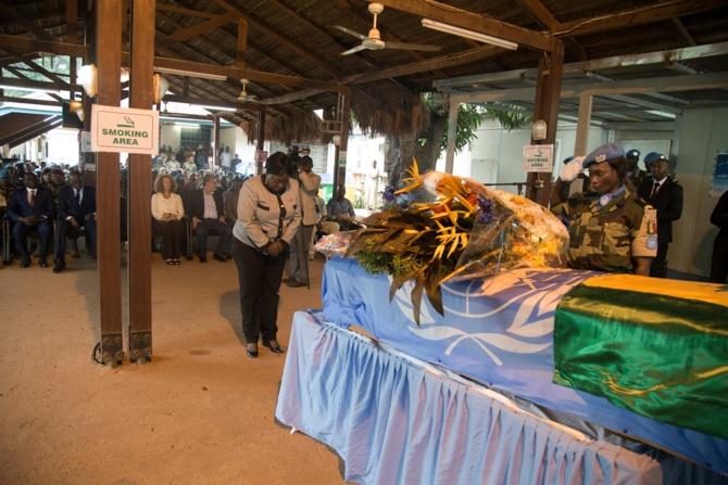 Hommage au capitaine Thiam, de l'aviation sénégalaise
