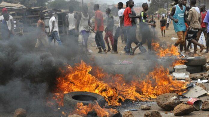 Guinée : 01 mort et 04 blessés dans des affrontements avec les forces de l'ordre