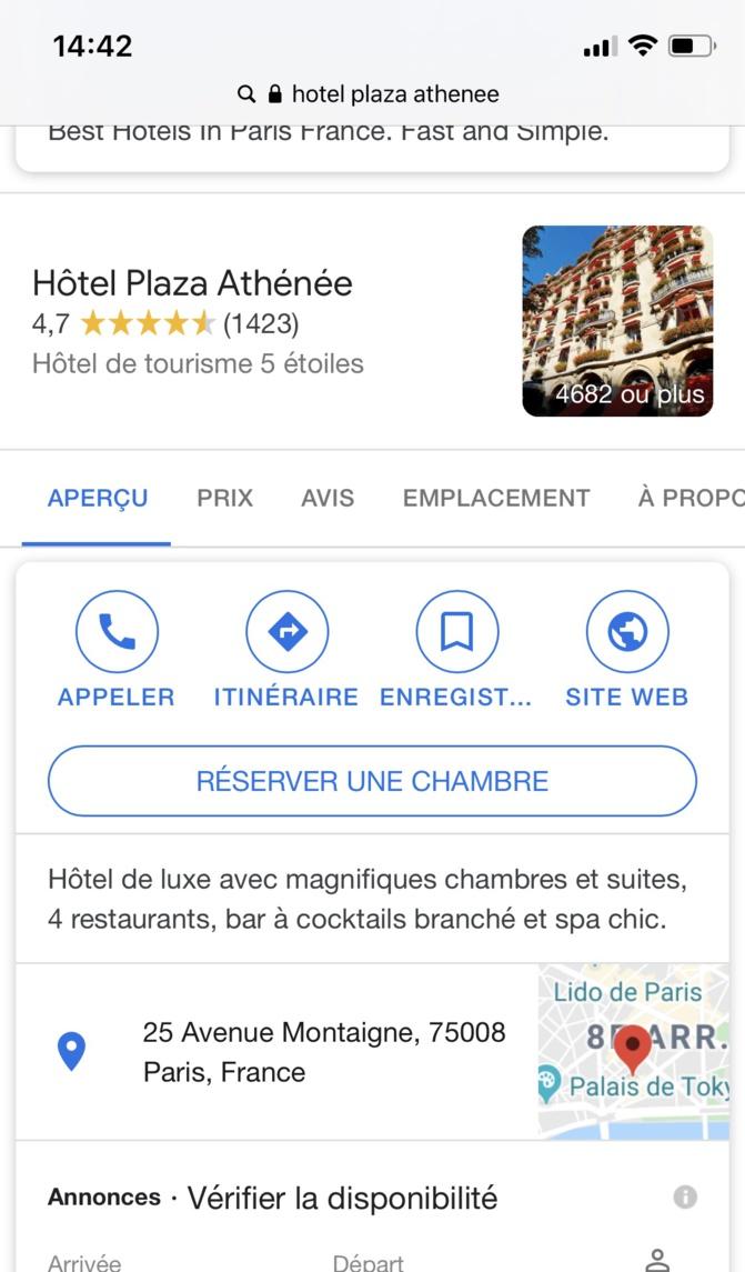 Fausse information du site « LE MONDE A DAKAR » : Mahammed Boun Abdallah Dionne, logé à l'hôtel Plaza, n'est pas malade