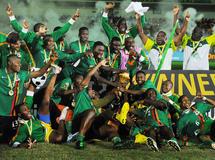Retour triomphal à Lusaka des Chipolopolo