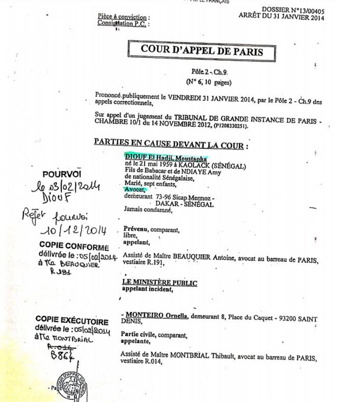 Condamné en France : Un passé récent rattrape Me El Hadji Diouf