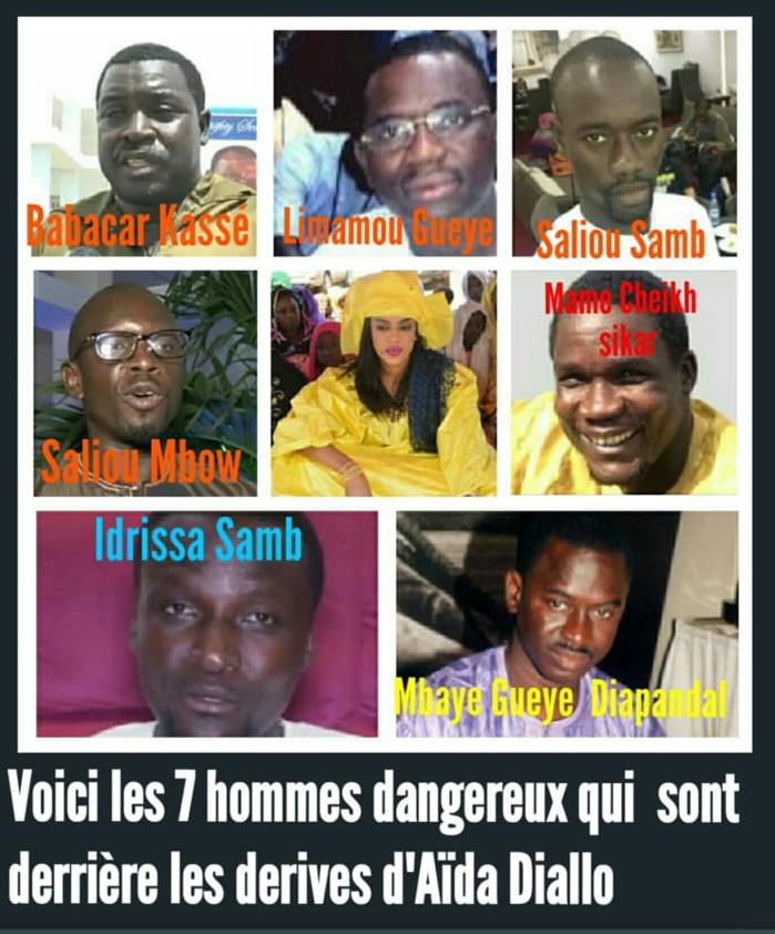 """PHOTOS - Bourdes de Sokhna Aïda: Ces 7 hommes seraient derrière tout le """"deal"""""""