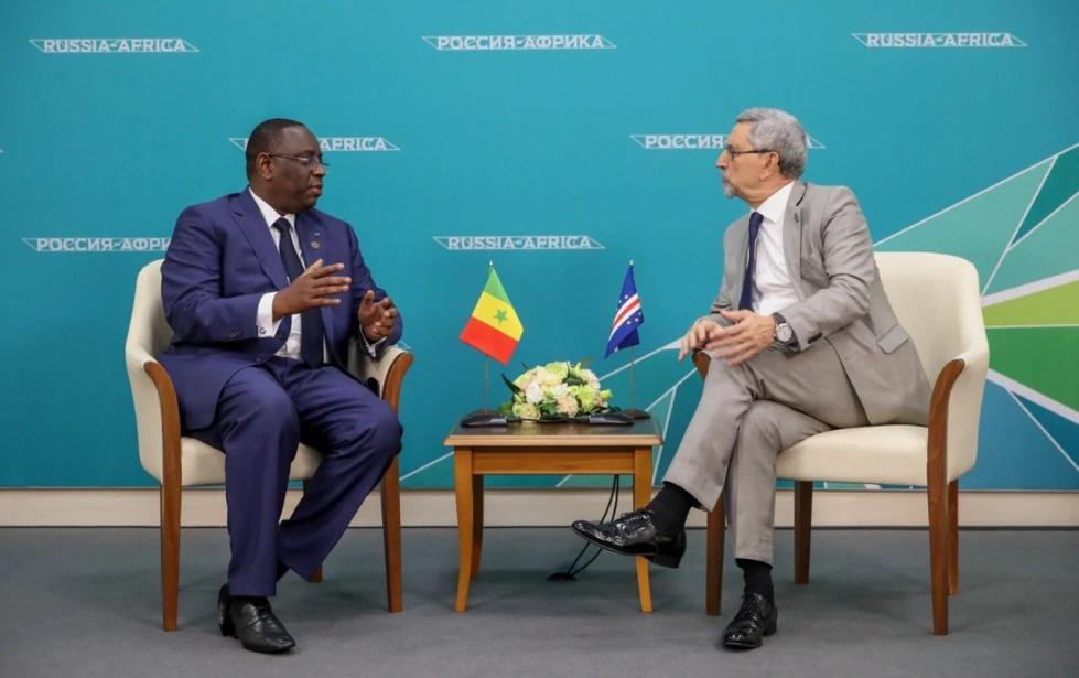 PHOTOS - Le tête-à-tête de Macky Sall et le président du Cap-Vert
