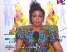 Présidentielle 2012 - Temps d'antenne de Diouma Dieng Diakhaté du Samedi 18 février 2012