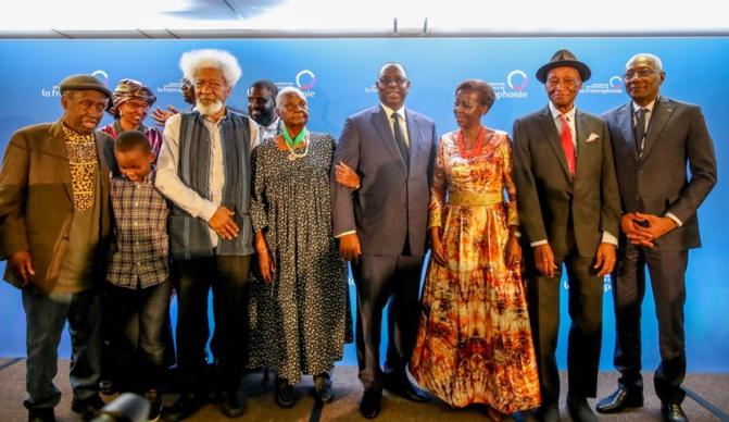 70 ans de Présence africaine : Mme Christiane Yandé, veuve de feu Alioune Diop, élevée au grade de commandeur dans l'ordre national du Lion