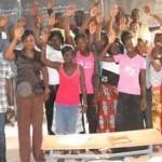Dahra Djoloff : Les lycéens en grève attendent demain Abdoulaye avec des brassards rouges