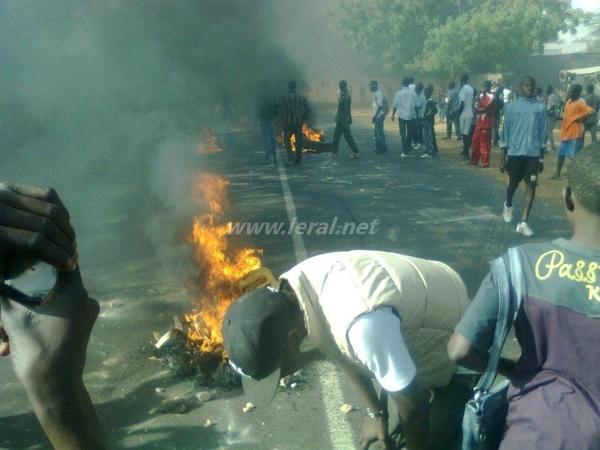 Le Sénégal dans le chaos?  (huffington post )