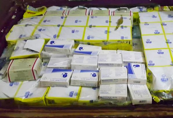 Axe Kaolack-Fatick : Nouvelle saisie de chanvre indien et de faux médicaments  (Images)
