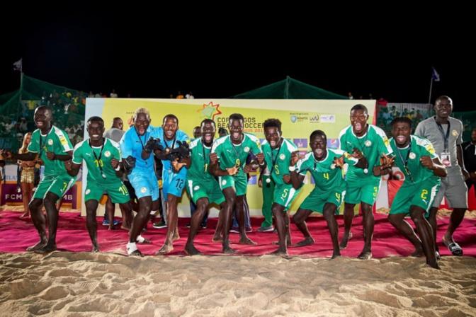 Beach soccer: Le Sénégal domine l'Angleterre (3-2) et remporte la « Copa Lagos »