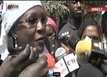 Réaction d'Amsatou Sow Sidibé après avoir voté