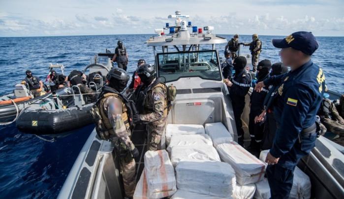 Cocaïne saisie au large de Dakar: la drogue a quitté le Brésil pour l'Europe, via le Maroc