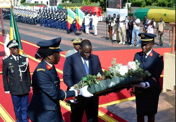 Journée des forces armées: Macky baptise des promotions de trois écoles militaires