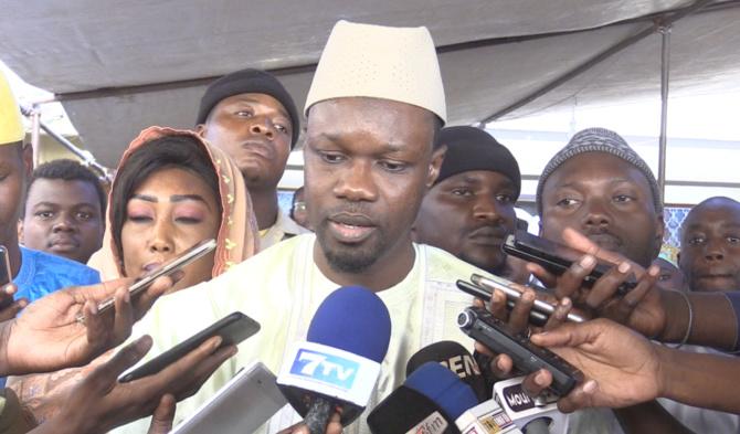 Ousmane Sonko reçu à Tivaouane: « le khalife nous a demandé… »
