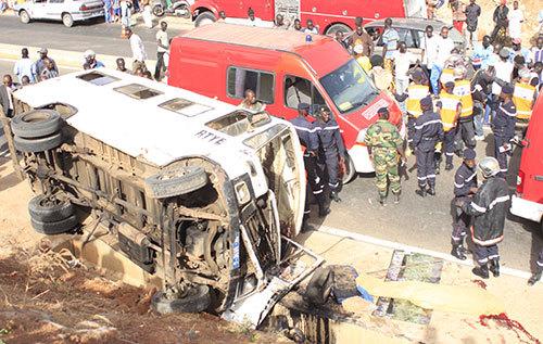Gamou 2019 : 10 accidents, 46 blessés et un mort enregistrés