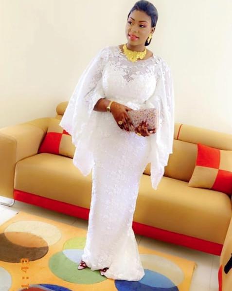 PHOTOS - La belle fille de Moustapha Cissé Lô a cassé la baraque le jour du baptême de son fils