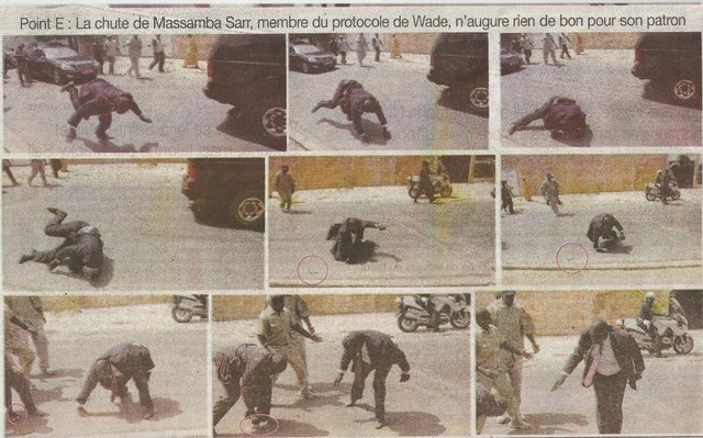 La chute de Massamba Sarr, le chef de protocole de Wade !