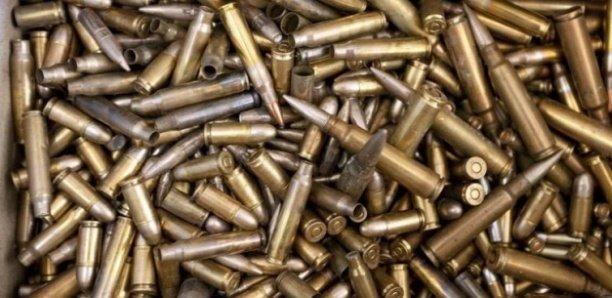 Pékesse: nouvelle saisie de 750 munitions de l'armée