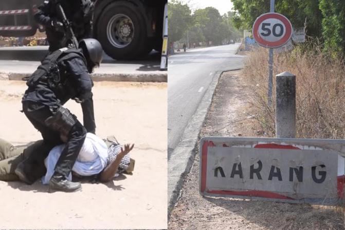 Karang: Arrestation d'un Syrien recherché par Interpol