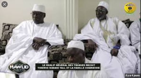 vIDEO - Visite de Thierno Madani Tall à Serigne Babacar Sy Mansour: El Hadj Malick Sy, parrain de la prochaine Ziarra Omarienne de Dakar