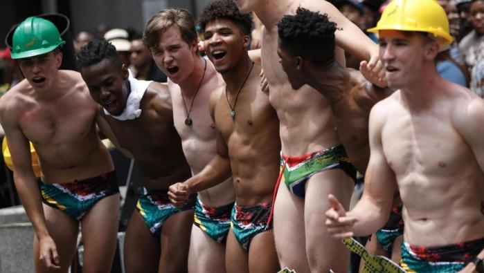 Afrique du Sud: Un slip de bain fait fureur après la victoire des Springboks