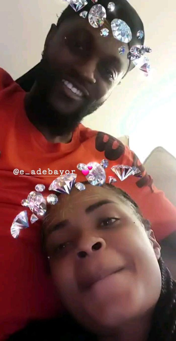 C'est fini entre Adebayor et sa petite amie namibienne, Dillish