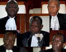 Le conseil Constitutionnel annule les recours de Wade et confirme les résultats de la Cena.