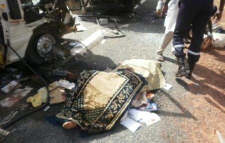 Drame sur l'avenue Blaise Diagne: Un camion sans frein écrase une femme.