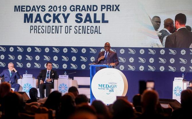 Distinction: le Président Macky Sall a reçu le prix MEDays 2019 au Maroc