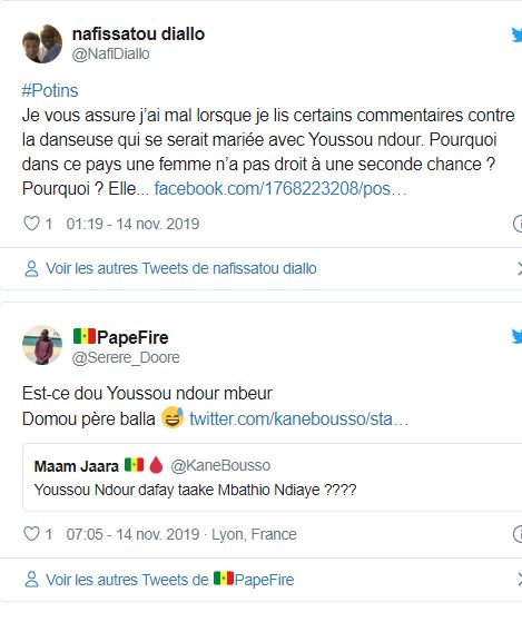 Mariage: La rumeur qui affole la toile sur Youssou Ndour et Mbathio Ndiaye
