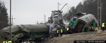 Pologne: 16 morts dans une collision entre deux trains - PHOTOS  ET VIDEO