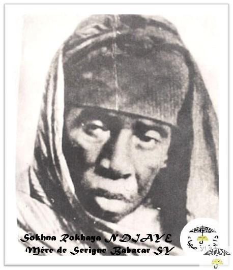 Photo : Sokhna Rokhaya NDIAYE, mére de Serigne Babacar Sy