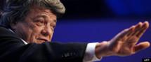 """Le Parti radical vote à 76% un soutien """"vigilant"""" à Sarkozy, Borloo pas présent à Villepinte"""