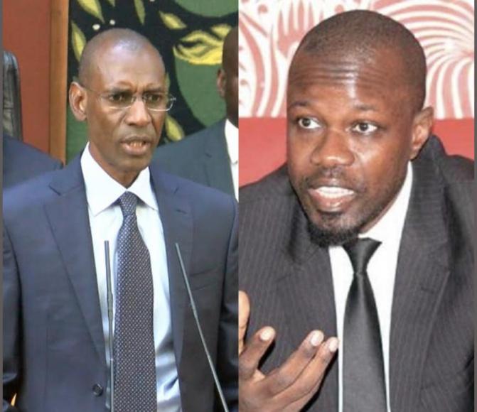 Ousmane Sonko tire sur Abdoulaye Daouda Diallo