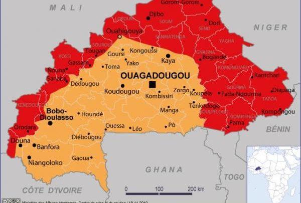 Le Burkina Faso «entièrement déconseillé» aux voyageurs selon le Ministère français des affaires étrangères