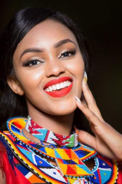 Miss Kenya : Maria Nyamai