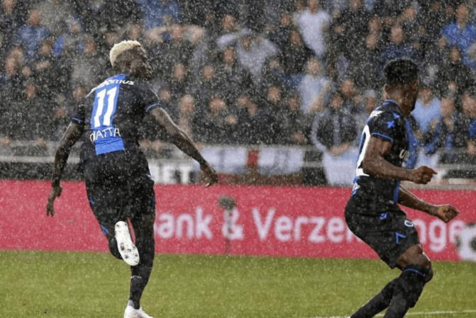 Ligue des Champions: Krépin égalise pour Bruges et se fait expulser