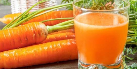 Le jus de carotte: Découvrons ses bienfaits pour notre organisme