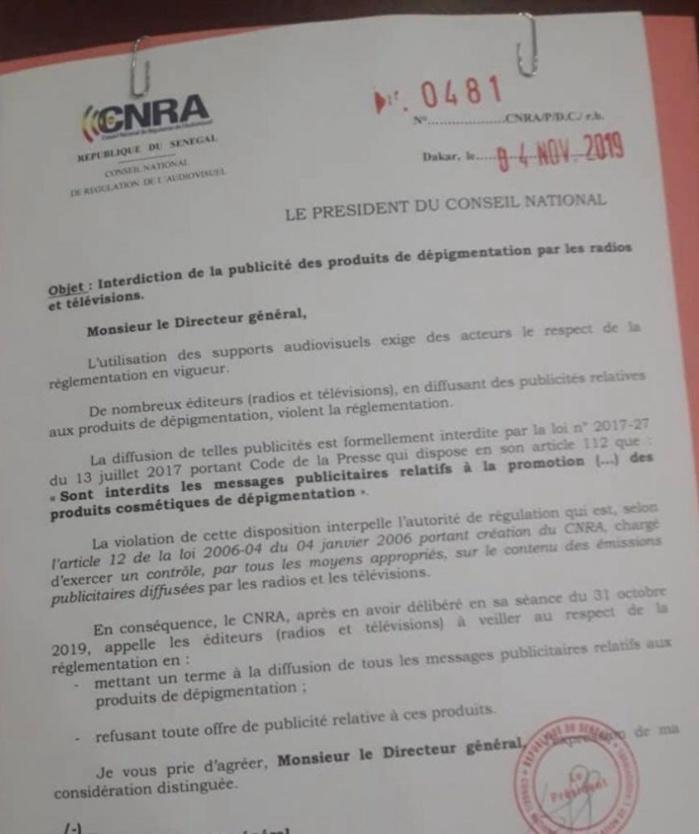 """Publicité sur le """"khessal"""": Marodi et la Tfm violent l'interdiction du CNRA"""