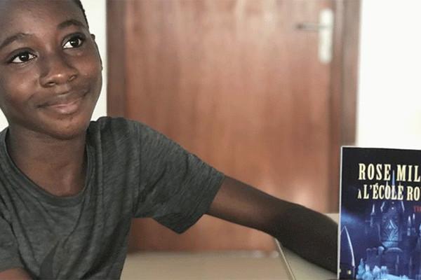 Culture : A 12 ans, Yvan Adepo est le plus jeune écrivain ivoirien