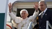 Arrivée de Benoît XVI à Cuba