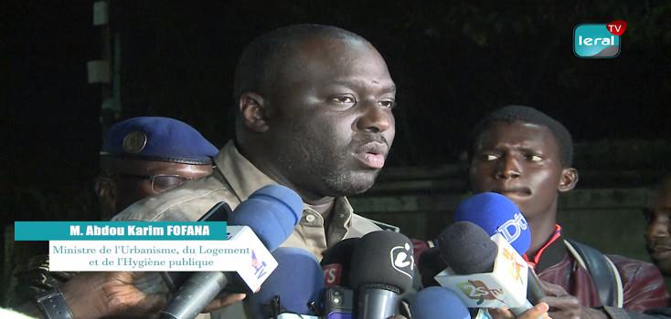 Lutte contre les gravats: Le ministre Abdou Karim Fofana annonce de lourdes sanctions pécuniaires (VIDEO)