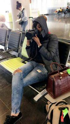 PHOTOS - Soumboulou Bathily en mode cadreur…