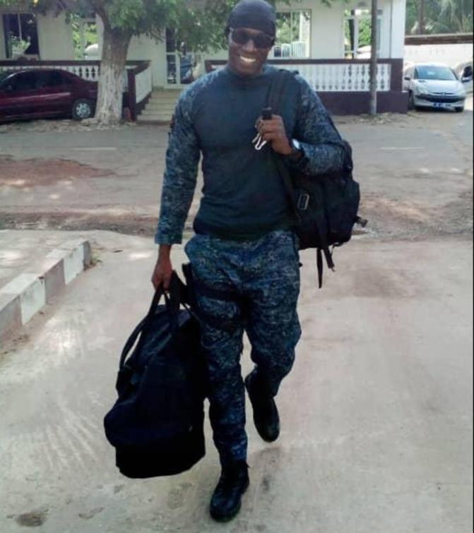 Un gendarme sénégalais meurt  lors d'une formation organisée par les USA