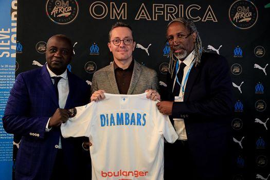 L'OM renforce ses liens avec l'Afrique et Diambars