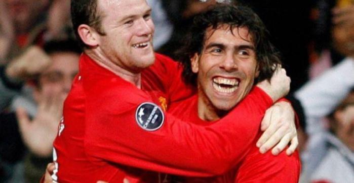 Manchester United: Retour sur le jour où, Rooney a offert sa Lamborghini à Carlos Tevez
