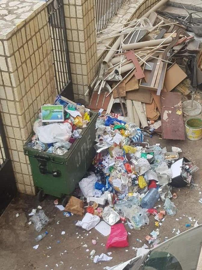 Photos: Ordures et urine inondent l'Assemblée Nationale