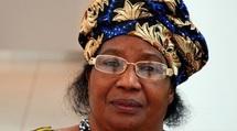 Joyce Banda présidente