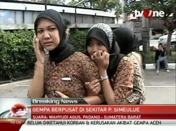 Séisme de magnitude 8,6 au large de l'Indonésie, alerte au tsunami dans tout l'océan Indien