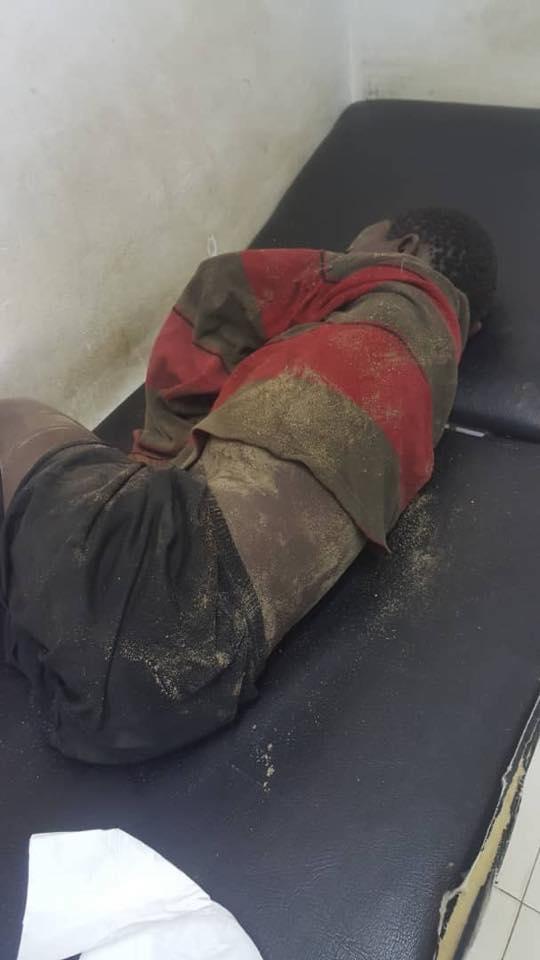 Photos: Un talibé retrouvé inanimé, les sapeurs-pompiers refusent de le prendre en charge
